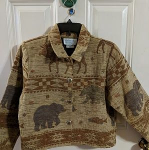 Deborah Murray rustic autumn coat